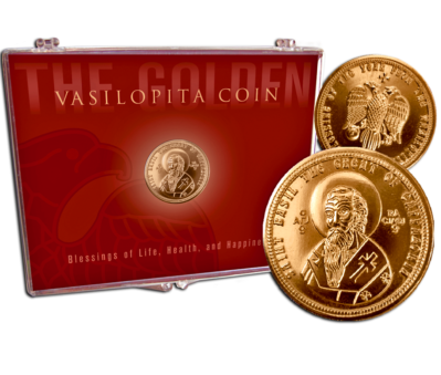 St. Basil Coin in Clear Presentation Case VAS-PC