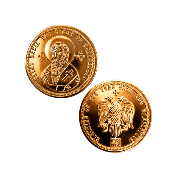 Greek Vasilopita Cake Coin