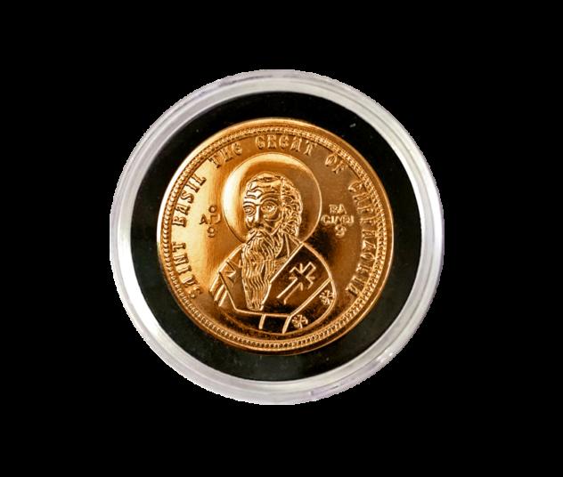 St. Basil Coin in Round Plastic Case VAS-RD